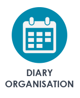 busy buddy for diary organisation - online business management